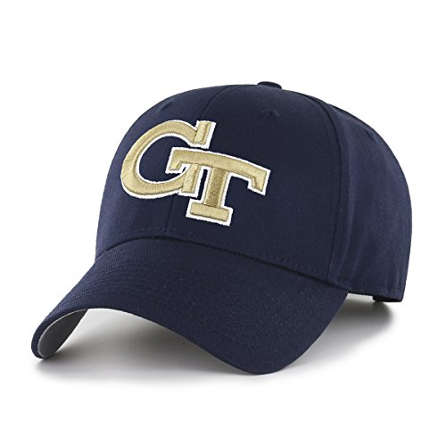 OTS NCAA Georgia Tech All-Star MVP Adjustable Hat, Navy, One Size (College Basketball Gear)