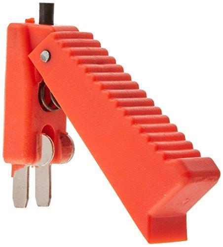 DealMux a15121400ux0197 Red Shell 2 Terminales de CO2 pistola de soldadura cortador gatillo del interruptor 2 piezas,: Amazon.es: Bricolaje y herramientas