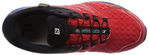 Salomon X-Scream 3D Gtx, Scarpe da Trail Running Uomo Rosso (Rot (Bright Red/Black/Union Blue))