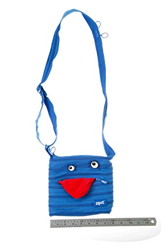 ZIPIT Monster Children Mini Shoulder Bag, Blue Photo #3