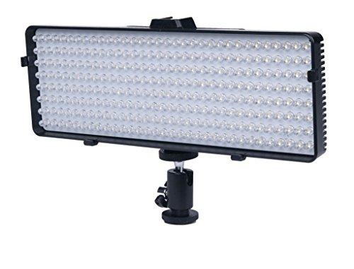 256 LED Video Light For Nikon DF, D90, D3000, D3200, D3300, D5000, D5100, D5200, D5300, D5500, D7000, D7100, D7200, D300, D300s, D600, D610, D700, D750, D800, D800e, D810, D810A Digital SLR Camera