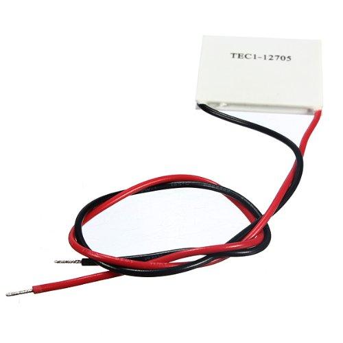 Semoic TEC1-12705 Modulo de Placa disipador de Calor de enfriamiento refrigerador termoelectrico 40mm 12V