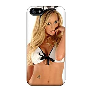 High Grade Jeffrehing Flexible Tpu Case For Iphone 5/5s - Natalie Denning Sexy Easter Bunny by icecream design