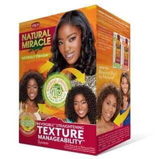 African Pride Natural Miracle Texture Manageability System