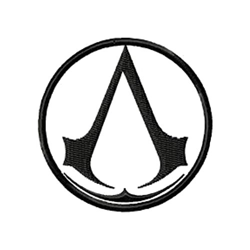Blue Heron Assassins Creed Logo Embroidered Iron/Sew-on Applique Patch (Assassin Creed Costume For Kids Cheap)