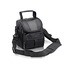 Waterproof Black Camera Case bag for Canon EOS Rebel T3 T3i T4i T5 T6 SL1 1100D,Nikon D3300 D3400 D5100 D5300 D5500 D7200 D610 B900,Sony,Pentax DSLR