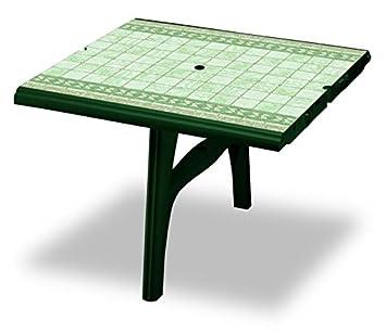 Rallonge pour Table en plastique Blanc avec plan Imprimé Top végétal ...
