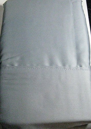 Set of 2 Ralph Lauren Dunham Sateen Standard Size Pillowcases Mist -300 Thread Count 100% Cotton-