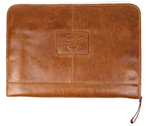 (Rawlings Heritage Collection Leather Folio - Tan)