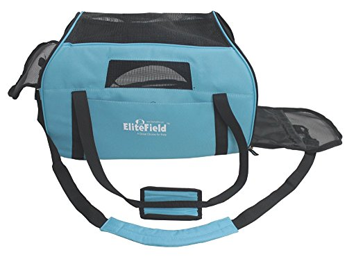 EliteField-Soft-Sided-Pet-Carrier-3-Year-Warranty-Airline-Approved-Multiple-Sizes-and-Colors-Available-Large-19L-x-10W-x-13H-Sky-Blue
