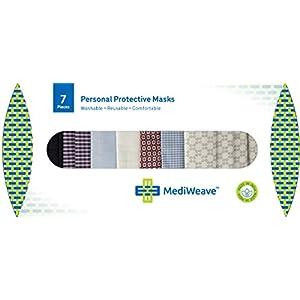Mediweave Unisex Cotton Reusable Cloth Face M...