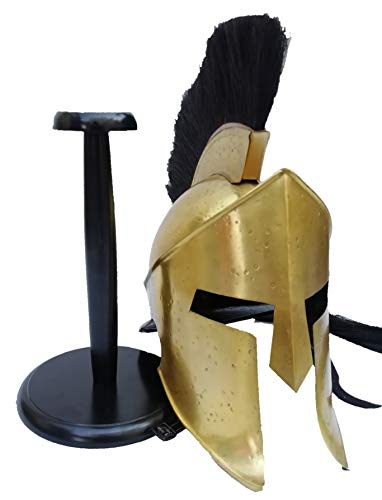 Medieval Armour Greek Spartan Helmet King 300 Leonidas Role Play Costume Gift