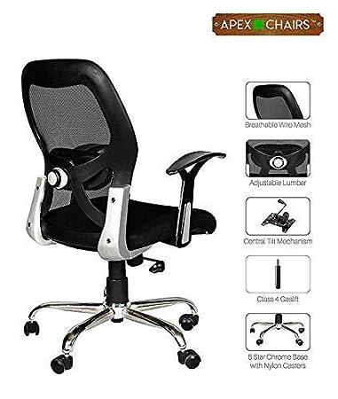 Apex AM-5002 Apollo Medium Back Office Chair