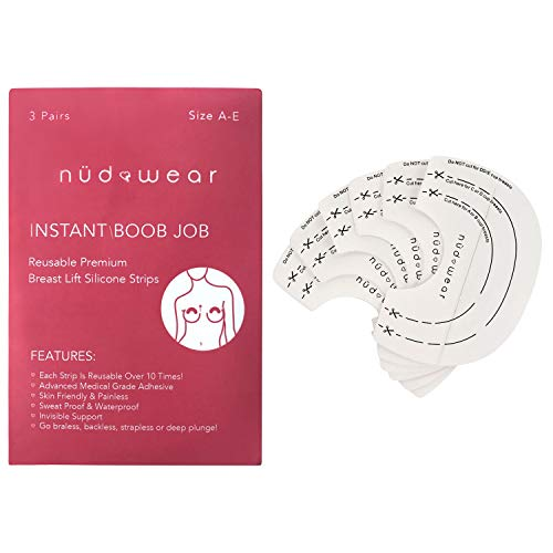 7c8bed3312 Nudwear Breast Lift Tape Adhesive Bra Invisible Breast Lift Tape Silicone