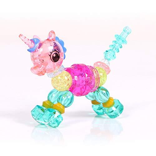 DIYurfeeling Twisty Pets ユニコーンチャーム マジックブレスレット おもちゃゲーム ドレスアップ ごっこ遊び 美女 ファッション ブレスレット 女の子 男の子用