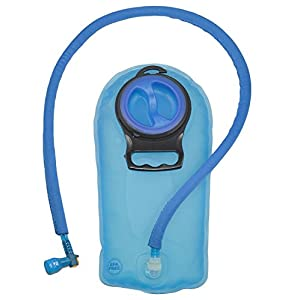 Lightweight Hydration Backpack –BPA Free TPU 1.5L Water Bladder - Insulated Water Hose - Pocket for Valuables - Men Women and Kids – Hiking Running Parks Cycling Riding Camping Walking Skiing