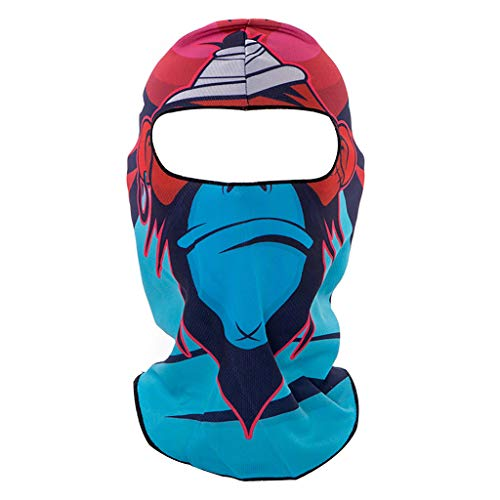 Vovomay 3D Animal Outdoor Party Cycling Ski Hat Balaclava Motorcycle Full Face Mask Cap -