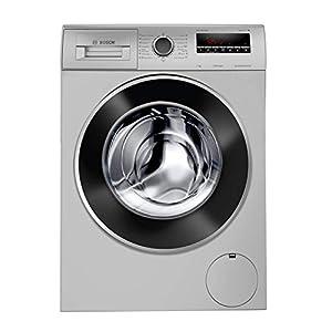 Bosch 7 Kg Inverter Fully-Automatic Front Loading Washing Machine (WAJ2426SIN, Silver)