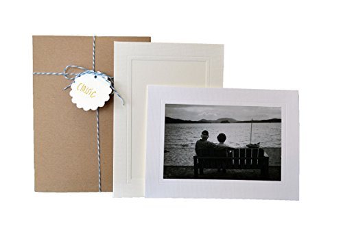 - Classic Collection - 4x6 Photo Insert Note Cards - 24 Pack by Plymouth Cards