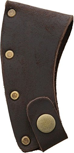 Prandi PRA706001 Brown Leather Axe Blade Cover Fits PRA4311TH & PRA0308TH by Prandi