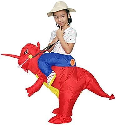 Disfraz de Dinosaurio Disfraz de Dinosaurio Inflable para Adultos ...