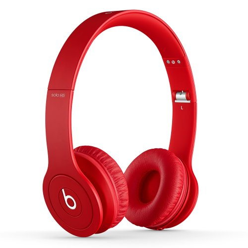 Beats Solo HD Wired On-Ear Headphone - Matte Red (Discontinued by Manufacturer) (Best Beats By Dre For Working Out)