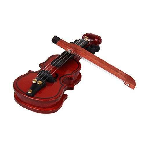 Dollhouse Miniature Musical Instrument Wooden