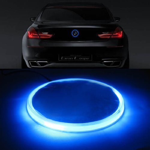 iJDMTOY 82mm BMW Trunk Hood Emblem Background Lighting Kit, Blue