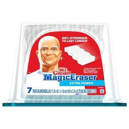 Sanford Foam (Mr Clean Magic Eraser Extra Power, 7 count | Creates a Truly Noticeable Clean)