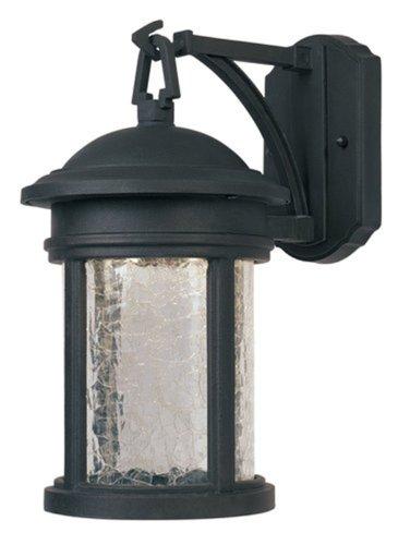 Designers Fountain LED31111-ORB Prado Wall Lanterns, Oil Rubbed - Glasses Prado