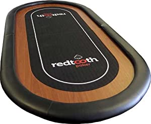 Redtooth Poker 8-Seat Poker Table Top: Amazon.co.uk: Toys & Games