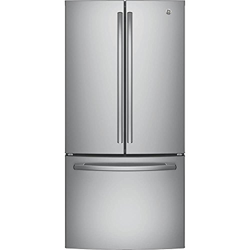 GE GNE25JSKSS 24.8 Cu. Ft. Stainless Steel French Door Refrigerator - Energy Star