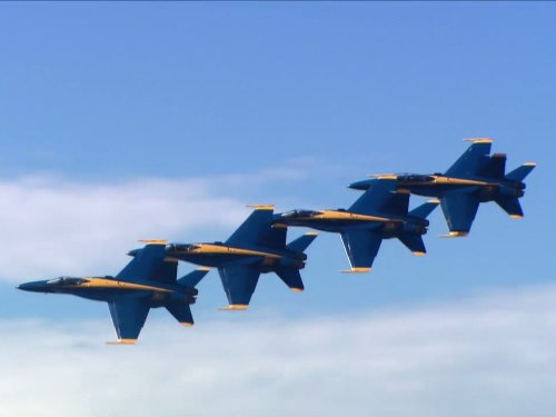 Blue Angels Blue Plane
