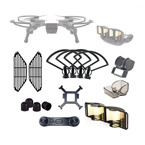 Camera Accessories Drone Lens Protection Cover +Tripod + Enhanced Antenna Accessories Kit for DJI Spark for DJI by LUQIN