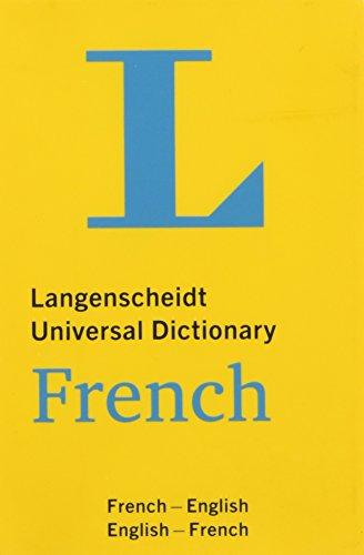 Langenscheidt Universal Dictionary French (Langenscheidt Universal Dictionaries)