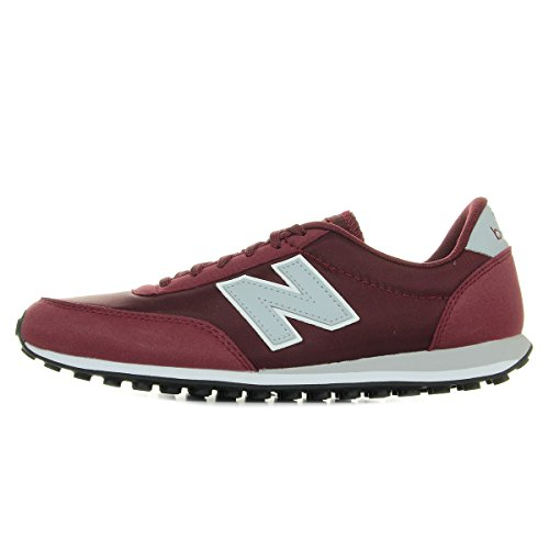 New Balance 410, Baskets Mixte Adulte Bordeaux