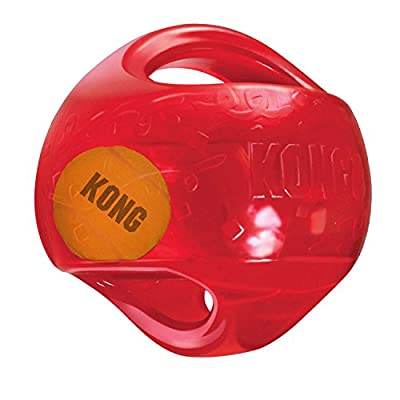 KONG Jumbler Ball Dog Toy from THE KONG COMPANY