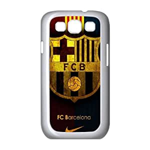 FC Barcelona Team Logo Samsung Galaxy S3 9300 Cell Phone Case White&Phone Accessory STC_977822