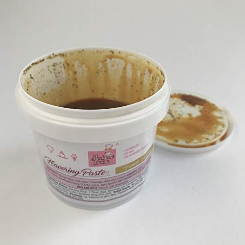- Madame Loulou 8oz Pure, Natural Vanilla Bean Paste for baking, ice cream and more (8oz -227g)