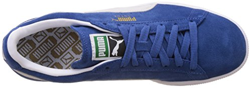 Puma Suede Classic+, Baskets Basses Mixte Adulte Blau (olympian blue-white 64)