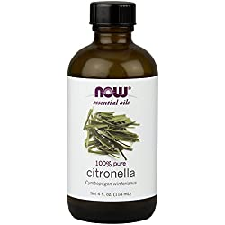 NOW Citronella Oil, 4-Ounce
