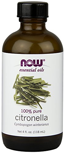 NOW Solutions Citronella Essential Oil, 4-Ounce by NOW Foods