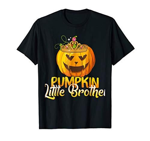 Pumpkin Little Brother T-shirt Couple Halloween