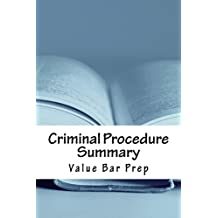 Criminal Procedure Summary: 9 dollars 99 cents only! Electronic lending available!