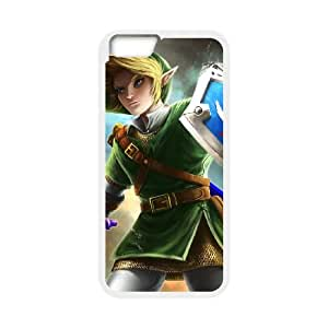 iPhone 6 Plus 5.5 Inch Cell Phone Case White Super Smash Bros Link LSO7860394