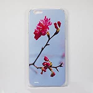 Addly - Enjoy and Appreciate the Natural Scenery - An HD Photo of Taiwan Cherry Printed on a PC Hard Case for iPhone 6