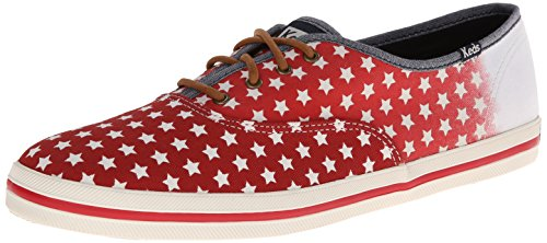 Keds Womens Champion Patriotic Red Sneaker - 8.5