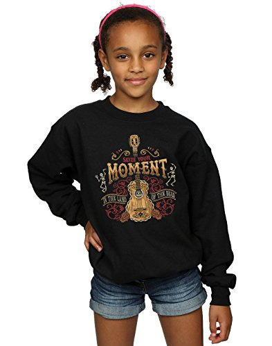 Disney Girls Coco Land of The Dead Sweatshirt 7-8 Years Black