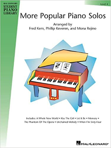 More Popular Piano Solos - Level 1 Songbook (Hal Leonard Student Piano Library (Songbooks))