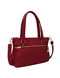 Travelon 43197 240 Anti-Theft Tailored Satchel, Garnet, One Size